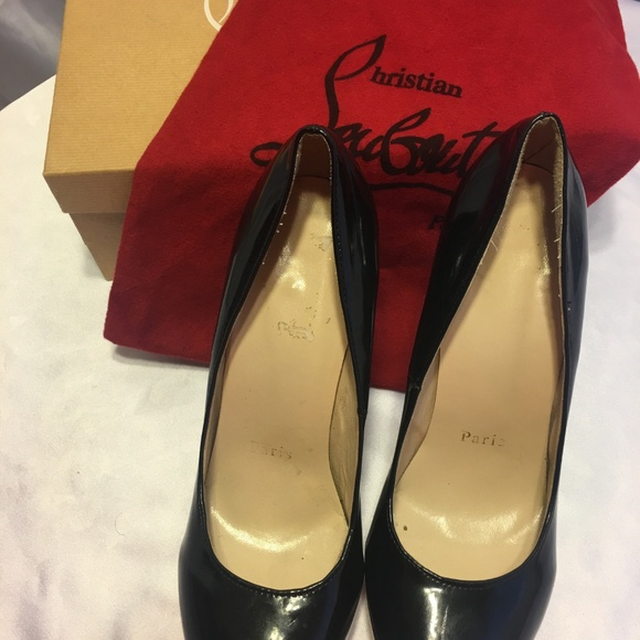 b3051c9d123e Christian Louboutin Shoes - Christian Louboutin Black X309-1 Pumps Size  EU  41